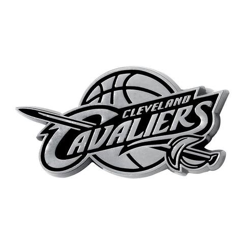 Cleveland Cavaliers NBA Chrome Car Emblem (2.3in x 3.7in)