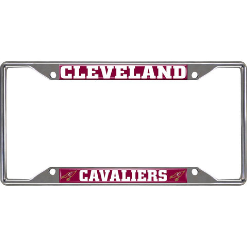 Cleveland Cavaliers NBA Chrome License Plate Frame
