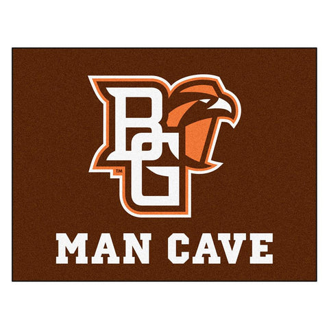 Bowling Green Falcons NCAA Man Cave All-Star Floor Mat (34in x 45in)