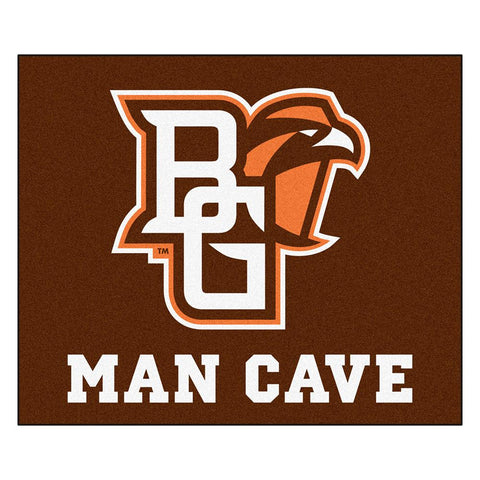 Bowling Green Falcons NCAA Man Cave Tailgater Floor Mat (60in x 72in)