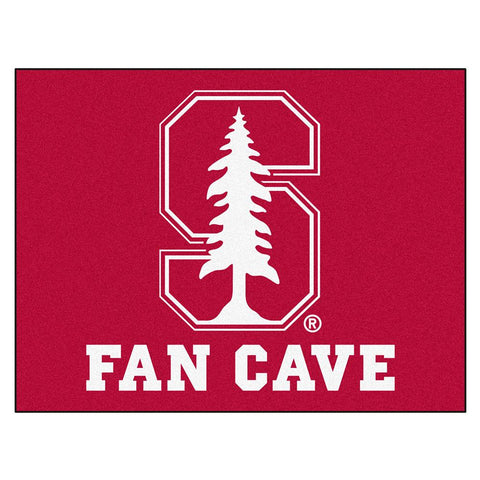 Stanford Cardinal NCAA Man Cave All-Star Floor Mat (34in x 45in)