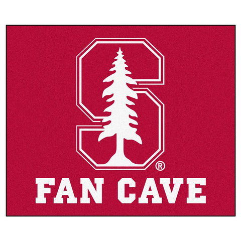 Stanford Cardinal NCAA Man Cave Tailgater Floor Mat (60in x 72in)