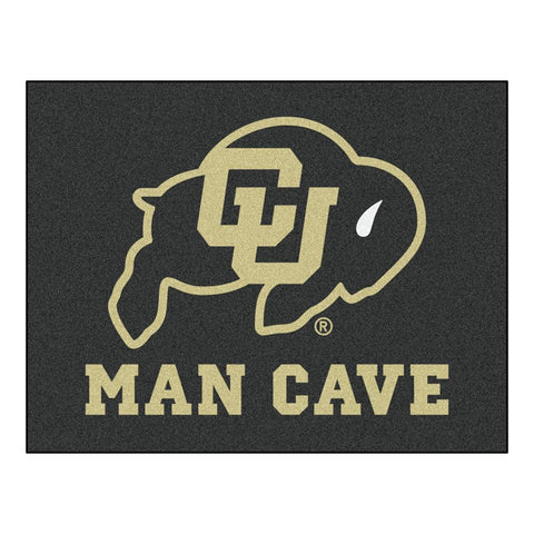 Colorado Golden Buffaloes NCAA Man Cave All-Star Floor Mat (34in x 45in)