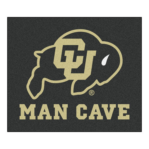 Colorado Golden Buffaloes NCAA Man Cave Tailgater Floor Mat (60in x 72in)