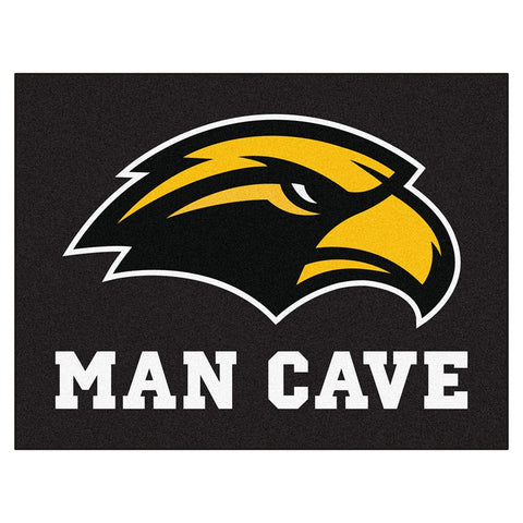 Southern Mississippi Eagles NCAA Man Cave All-Star Floor Mat (34in x 45in)