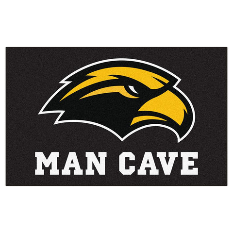 Southern Mississippi Eagles NCAA Man Cave Ulti-Mat Floor Mat (60in x 96in)