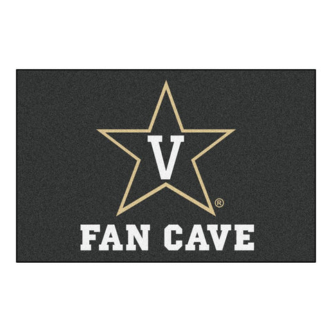 Vanderbilt Commodores NCAA Man Cave Starter Floor Mat (20in x 30in)