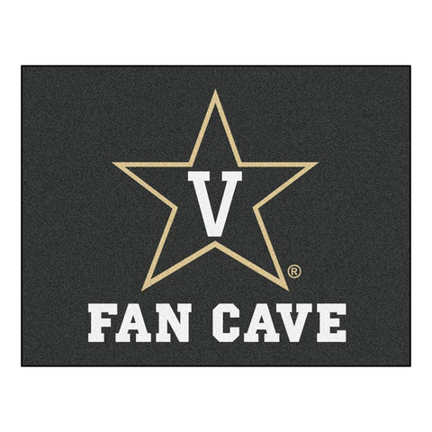 Vanderbilt Commodores NCAA Man Cave All-Star Floor Mat (34in x 45in)