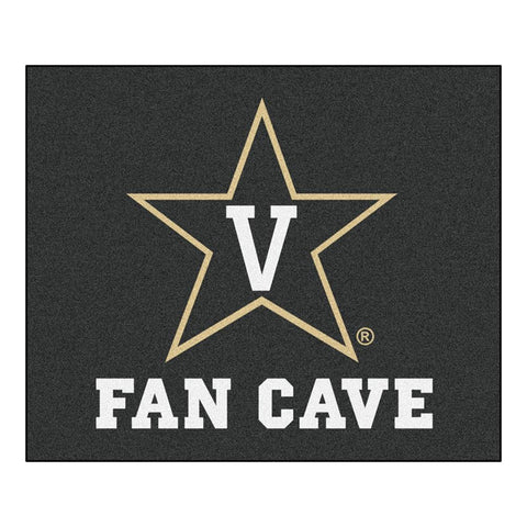 Vanderbilt Commodores NCAA Man Cave Tailgater Floor Mat (60in x 72in)