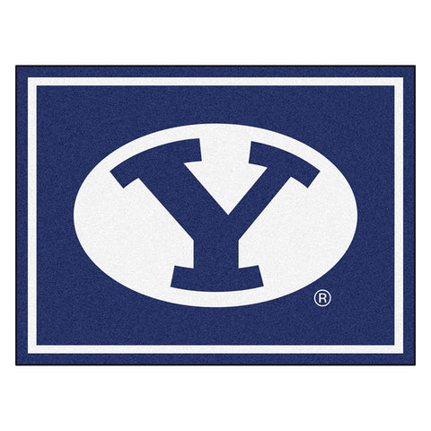 Brigham Young Cougars NCAA 8ft x10ft Area Rug