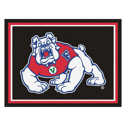 Fresno State Bulldogs NCAA 8ft x10ft Area Rug