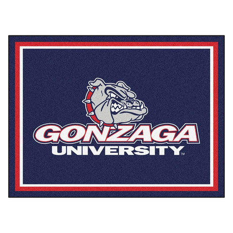 Gonzaga Bulldogs NCAA 8ft x10ft Area Rug