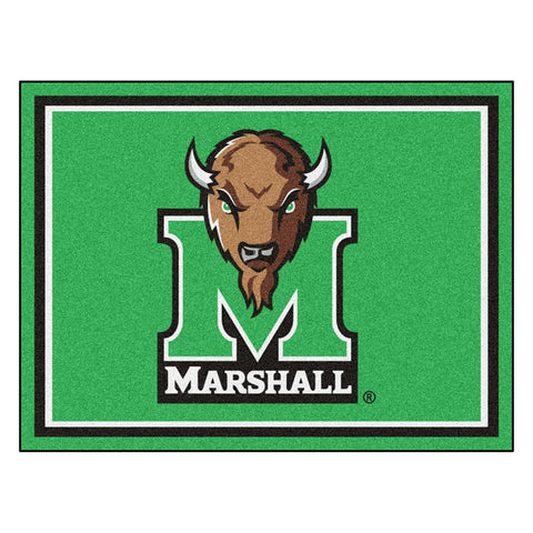 Marshall Thundering Herd NCAA 8ft x10ft Area Rug