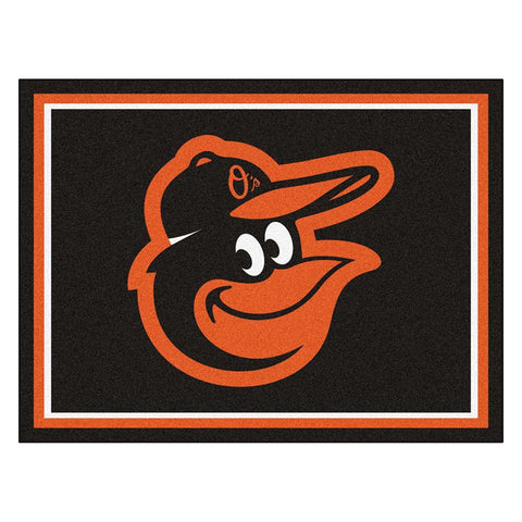 Baltimore Orioles MLB 8ft x10ft Area Rug
