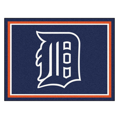 Detroit Tigers MLB 8ft x10ft Area Rug