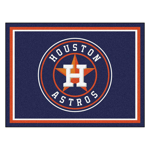 Houston Astros MLB 8ft x10ft Area Rug