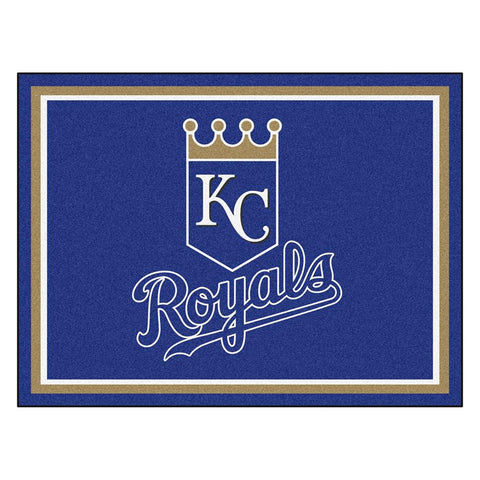 Kansas City Royals MLB 8ft x10ft Area Rug