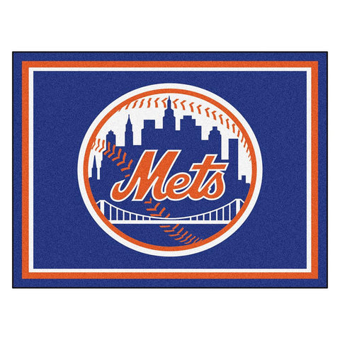 New York Mets MLB 8ft x10ft Area Rug