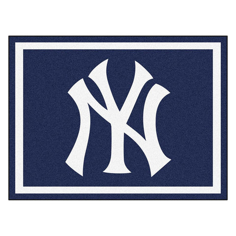 New York Yankees MLB 8ft x10ft Area Rug