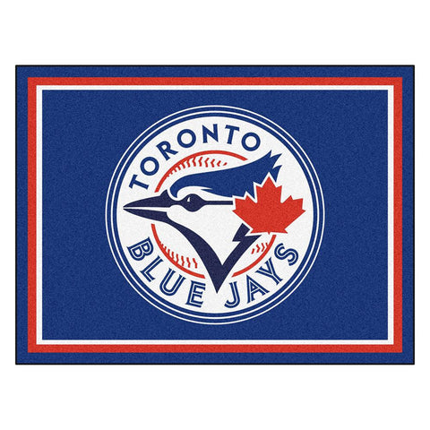 Toronto Blue Jays MLB 8ft x10ft Area Rug
