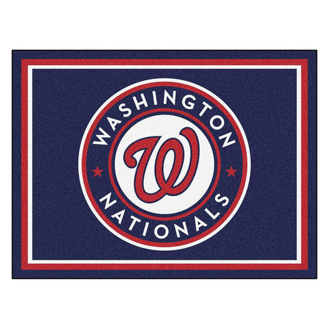 Washington Nationals MLB 8ft x10ft Area Rug