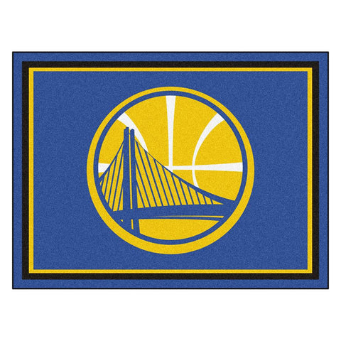 Golden State Warriors NBA 8ft x10ft Area Rug