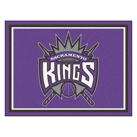 Sacramento Kings NBA 8ft x10ft Area Rug