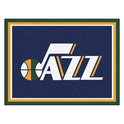 Utah Jazz NBA 8ft x10ft Area Rug
