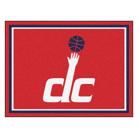 Washington Wizards NBA 8ft x10ft Area Rug