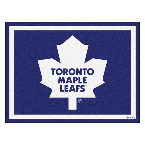 Toronto Maple Leafs NHL 8ft x10ft Area Rug