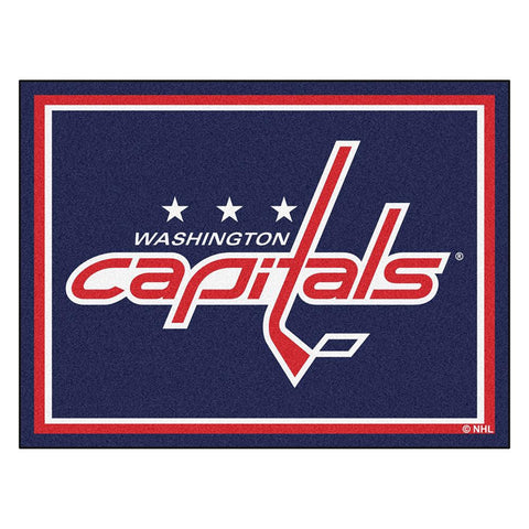 Washington Capitals NHL 8ft x10ft Area Rug