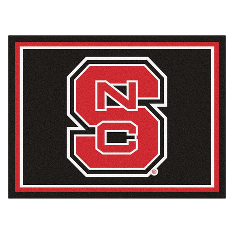 North Carolina State Wolfpack NCAA 8ft x10ft Area Rug