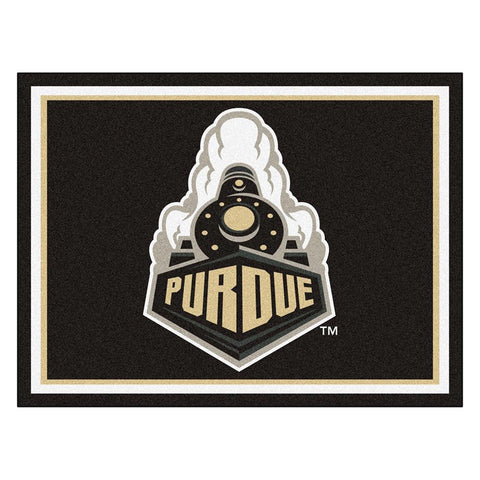 Purdue Boilermakers NCAA 8ft x10ft Area Rug