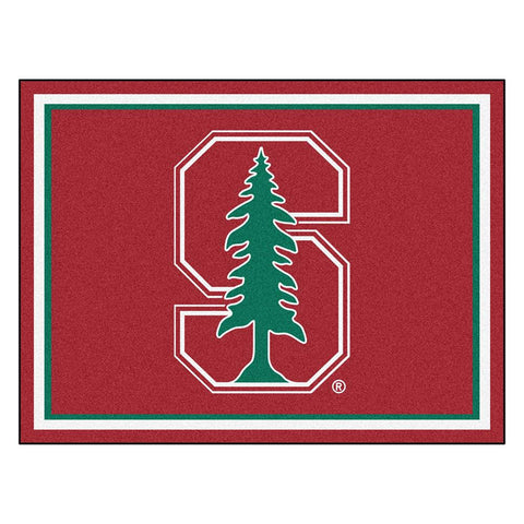 Stanford Cardinal NCAA 8ft x10ft Area Rug