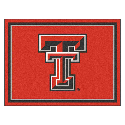 Texas Tech Red Raiders NCAA 8ft x10ft Area Rug