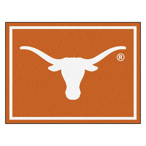 Texas Longhorns NCAA 8ft x10ft Area Rug