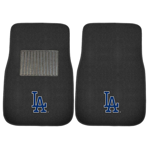 Los Angeles Dodgers MLB 2-pc Embroidered Car Mat Set