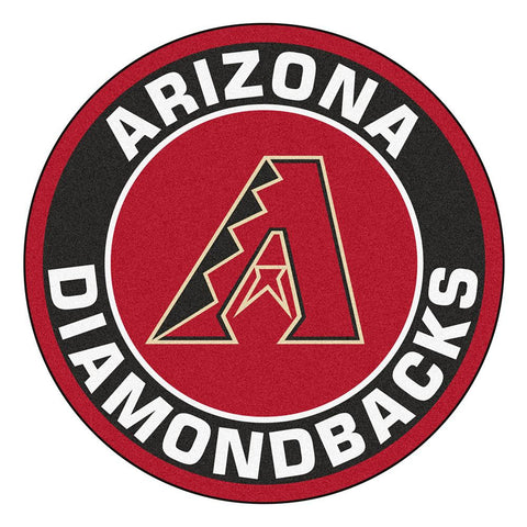 Arizona Diamondbacks MLB Round Floor Mat (29)