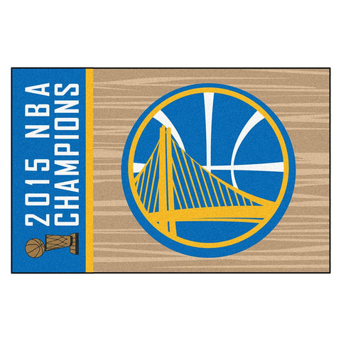 Golden State Warriors 2015 NBA Champion Starter Floor Mat (20x30)