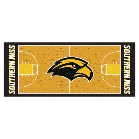 Southern Mississippi Eagles NCAA Court Runner (29.5x72)