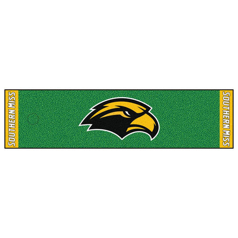 Southern Mississippi Eagles NCAA Putting Green Runner (18x72)