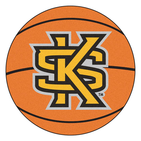 Kennesaw State Owls NCAA Basketball Round Floor Mat (29)