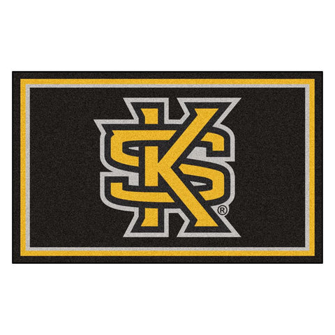 Kennesaw State Owls NCAA 4x6 Rug (46x72)
