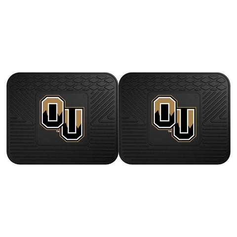 Oakland Golden Grizzlies NCAA Utility Mat (14x17)(2 Pack)