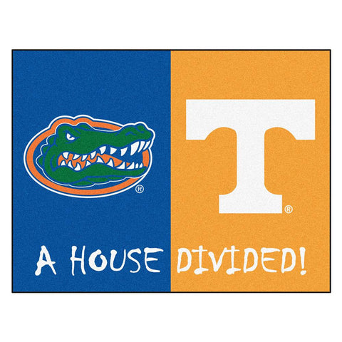 Florida - Tennessee NCAA House Divided NFL All-Star Floor Mat (34x45)