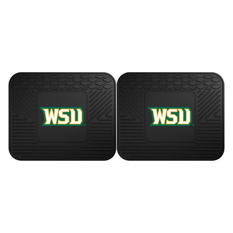 Wright State Raiders NCAA Utility Mat (14x17)(2 Pack)