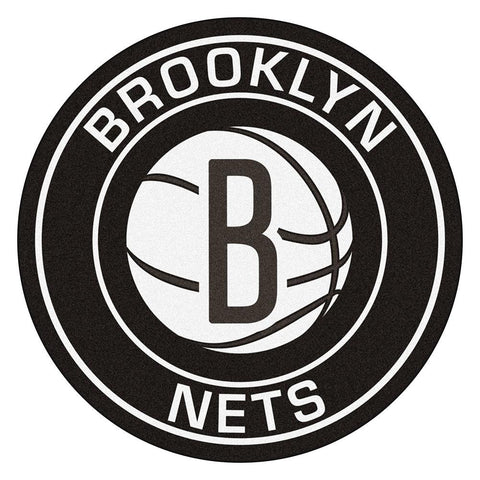 Brooklyn Nets NBA Roundel Mat