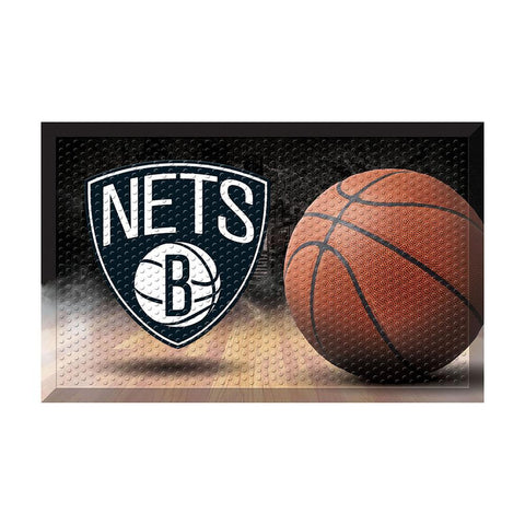 Brooklyn Nets NBA Scraper Doormat (19x30)
