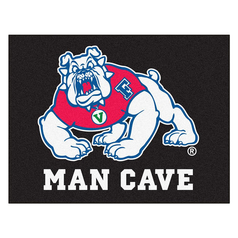 Fresno State Bulldogs NCAA Man Cave All-Star Floor Mat (34in x 45in)