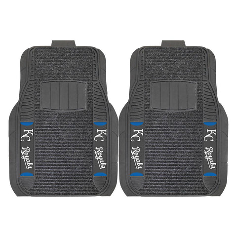 Kansas City Royals MLB Deluxe 2-Piece Vinyl Car Mats